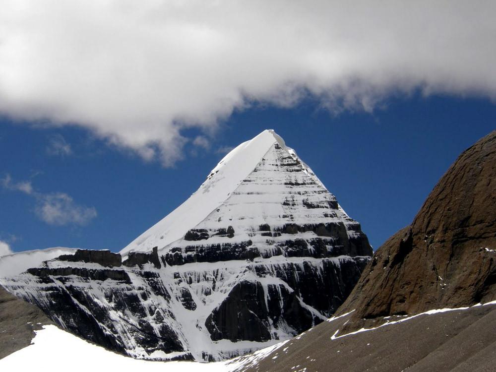 Four Faces of Mount Kailash